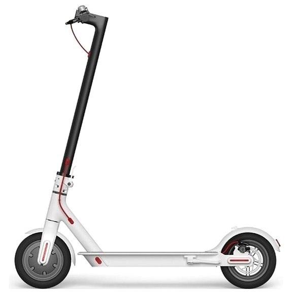 Xiaomi Mi Scooter 2 white - Elektrická kolobežka