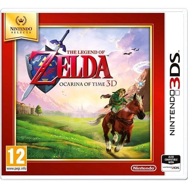 The Legend of Zelda: Ocarina of Time 3D – Nintendo 3DS - Hra na konzolu