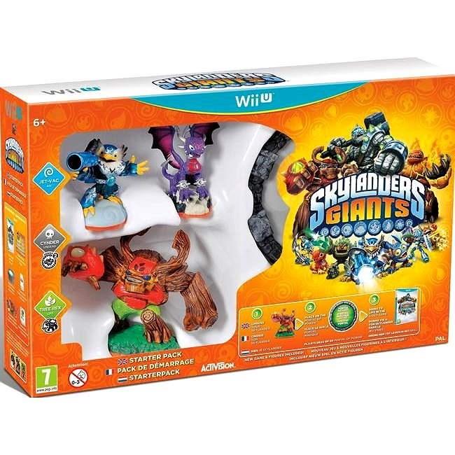 Nintendo Wii U - Skylanders: Giants (Starter Pack) - Hra na konzolu