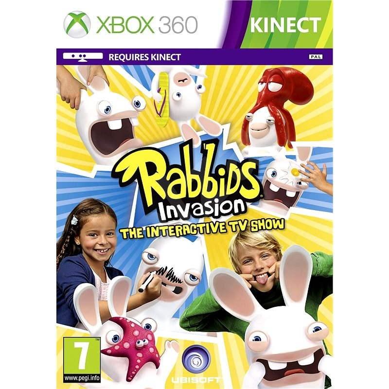 Xbox 360 - Rabbids Invasion - Hra na konzolu