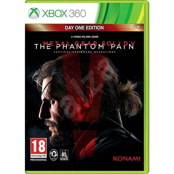 Xbox 360 - Metal Gear Solid 5: The Phantom Pain Day One Edition - Hra na konzolu