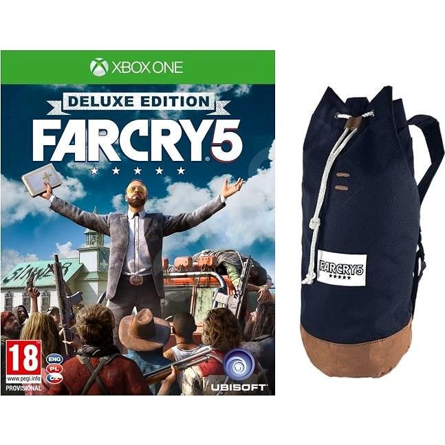 Far Cry 5 Deluxe Edition + Originálny Batoh – Xbox One - Hra na konzolu
