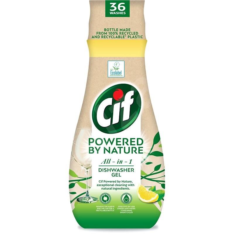 CIF All in 1 Nature Gél na riad 640 ml - Eko gél do umývačky