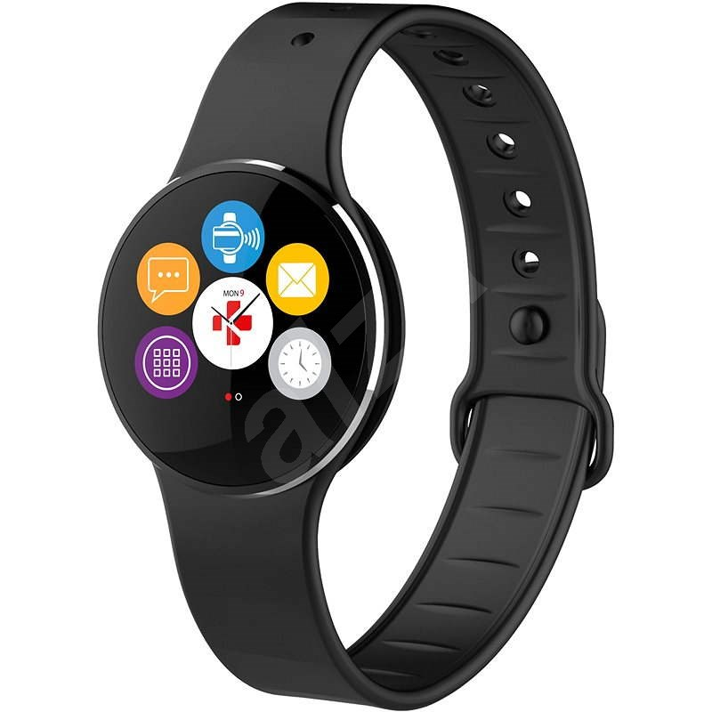 MyKronoz ZeCircle2 Black - Smart hodinky