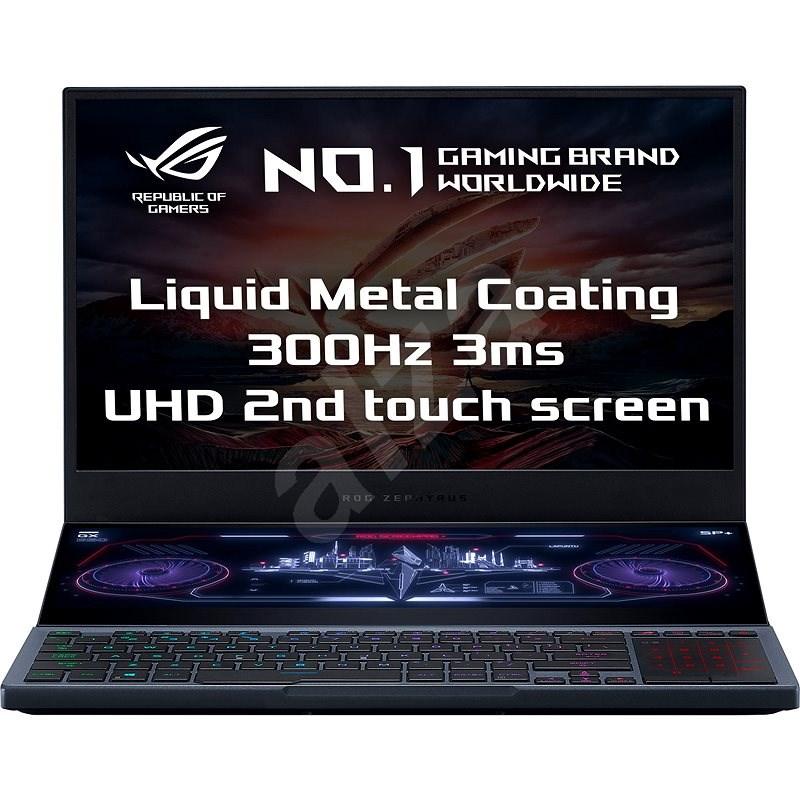 Asus ROG Zephyrus Duo GX550LWS-HF066T Gunmetal Gray kovový - Herný notebook