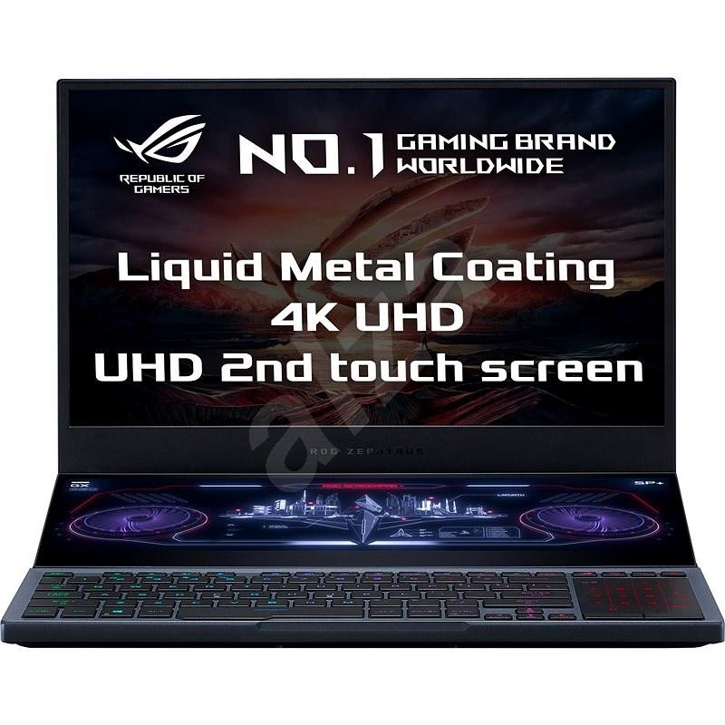 Asus ROG Zephyrus Duo GX550LXS-HC060T Gunmetal Gray kovový - Herný notebook
