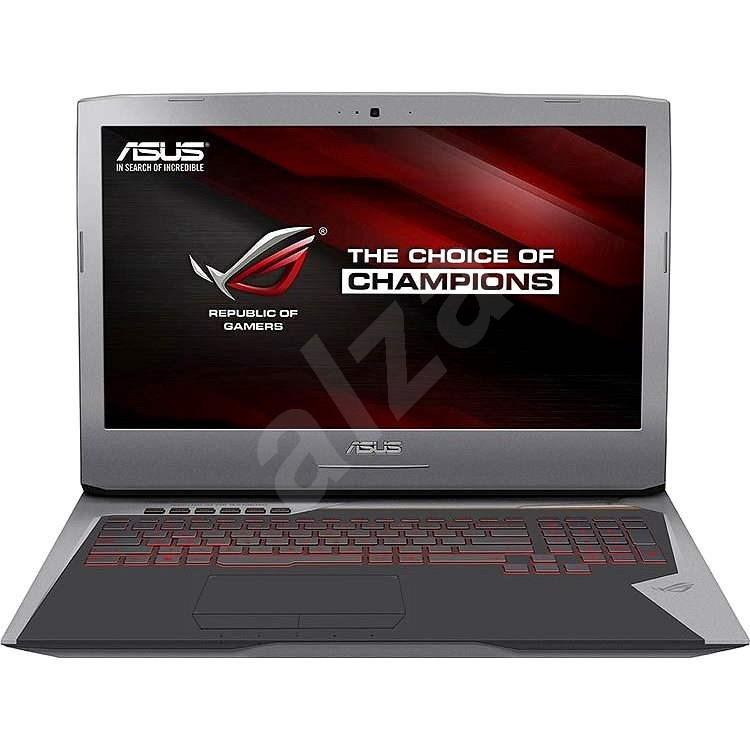 ASUS ROG G752VS-BA161T kovový sivý - Notebook