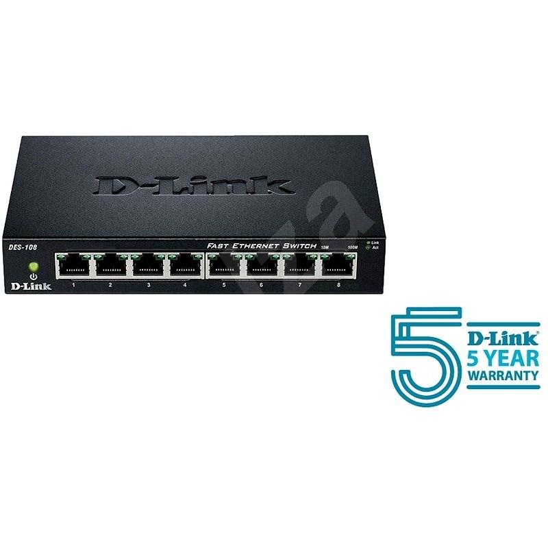 D-Link DES-108/E - Switch