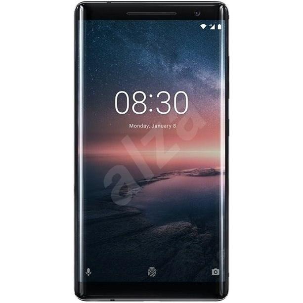 Nokia 8 Sirocco Black - Mobilný telefón