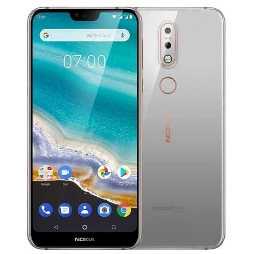 Nokia 7.1 Single SIM sivá - Mobilný telefón
