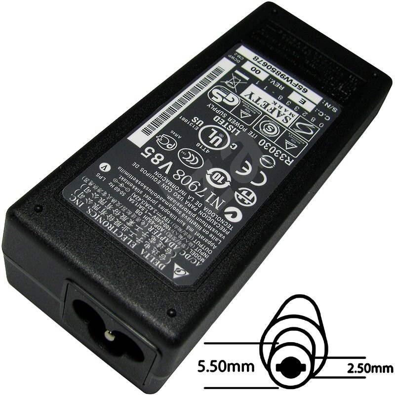 65W orig. 19V, 5.5x2.5 - Napájací adaptér