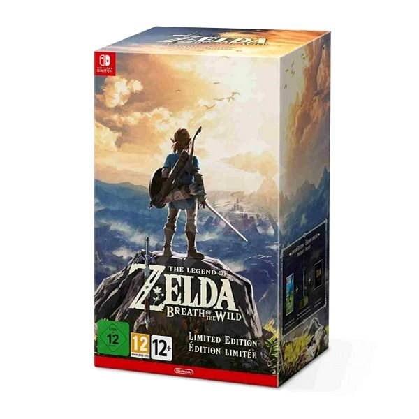 The Legend of Zelda: BOTW Limited edition - Nintendo Switch - Hra na konzolu