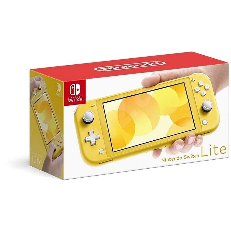 Nintendo Switch Lite – Yellow - Herná konzola