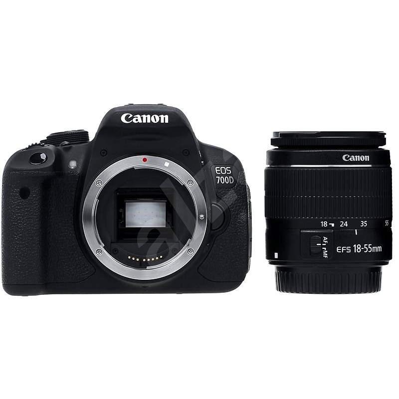 Canon EOS 700D + EF-S 18-55 mm DC III - Digitálna zrkadlovka