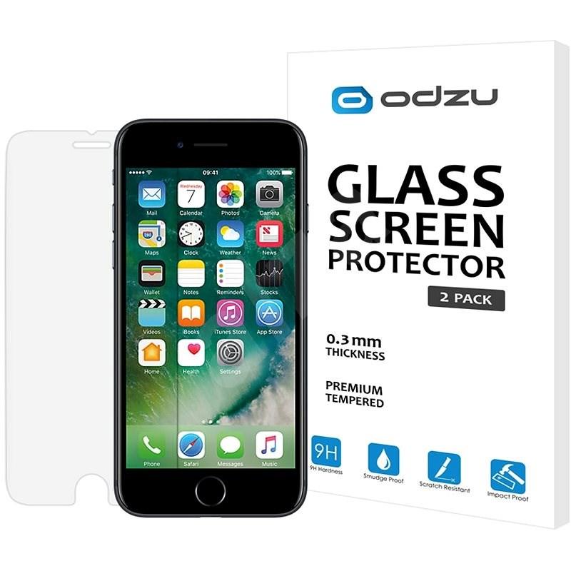 Odzu Glass Screen Protector pre iPhone 7 a iPhone 6S - Ochranné sklo