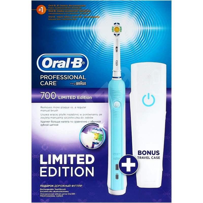 Oral B Professional Care 700 White + travel case - Elektrická zubná kefka