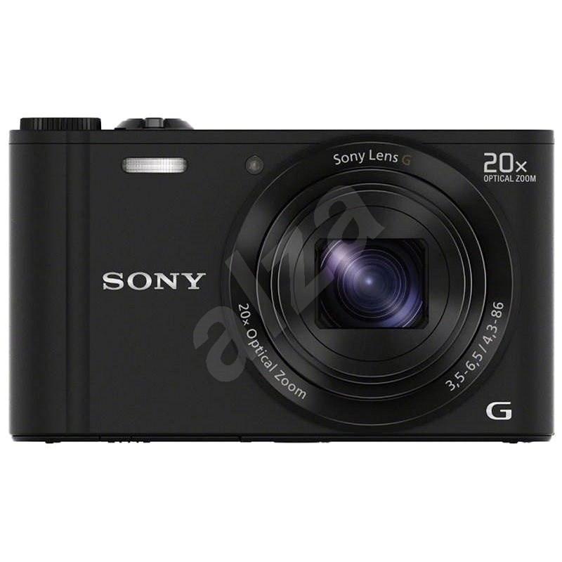 Sony CyberShot DSC-WX350 čierny - Digitálny fotoaparát