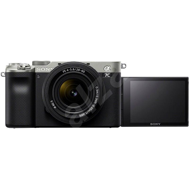 Sony Alpha A7C strieborný + FE 28–60 mm - Digitálny fotoaparát