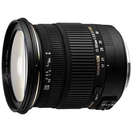 SIGMA 17 – 50 mm F2.8 EX DC OS HSM pre Sony - Objektív