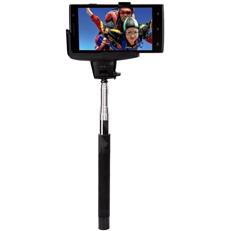 Hama Selfie MOMENTS 100 čierny - Selfie tyč