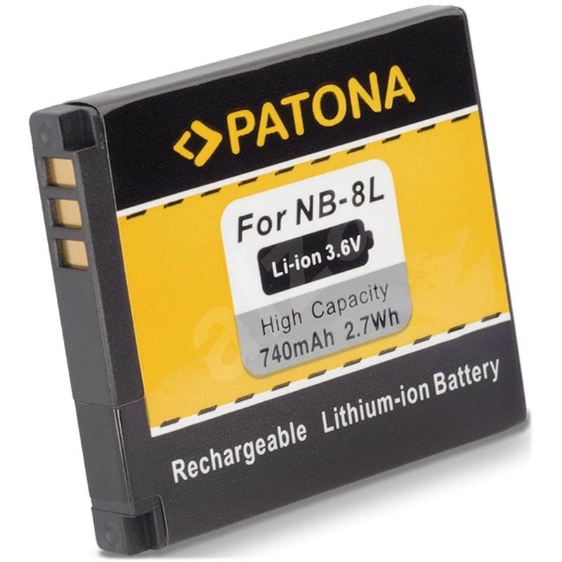 PATONA pre Canon NB-8L 740 mAh Li-Ion - Batéria do fotoaparátu