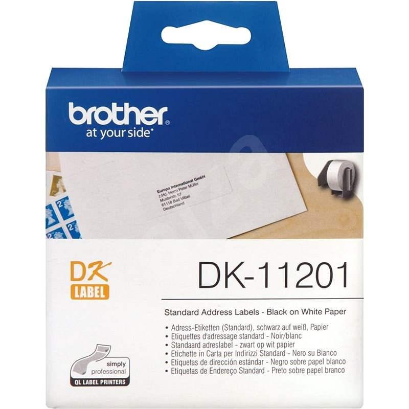 Brother DK-11201 - Papierové štítky