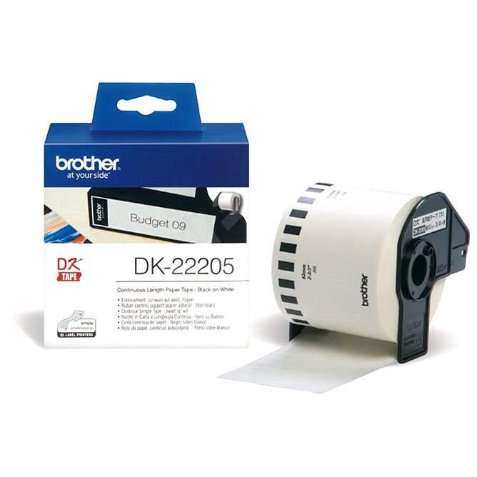 Brother DK 22205 - Papierové štítky