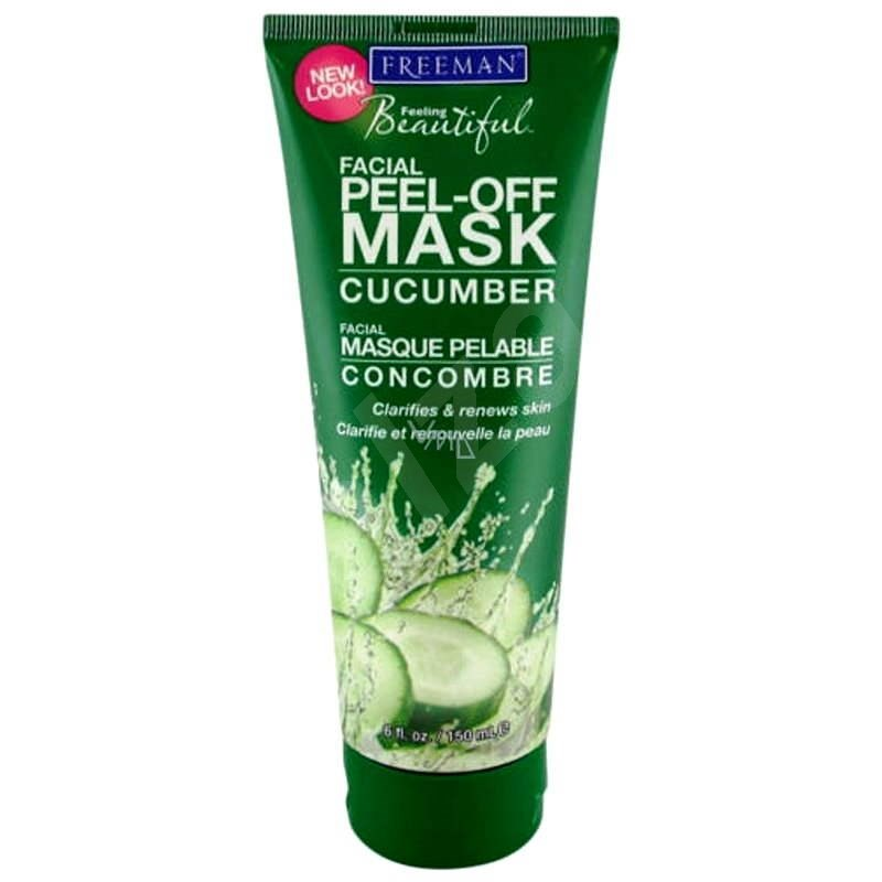 FREEMAN Pleťová maska - uhorka 150 ml - Pleťová maska
