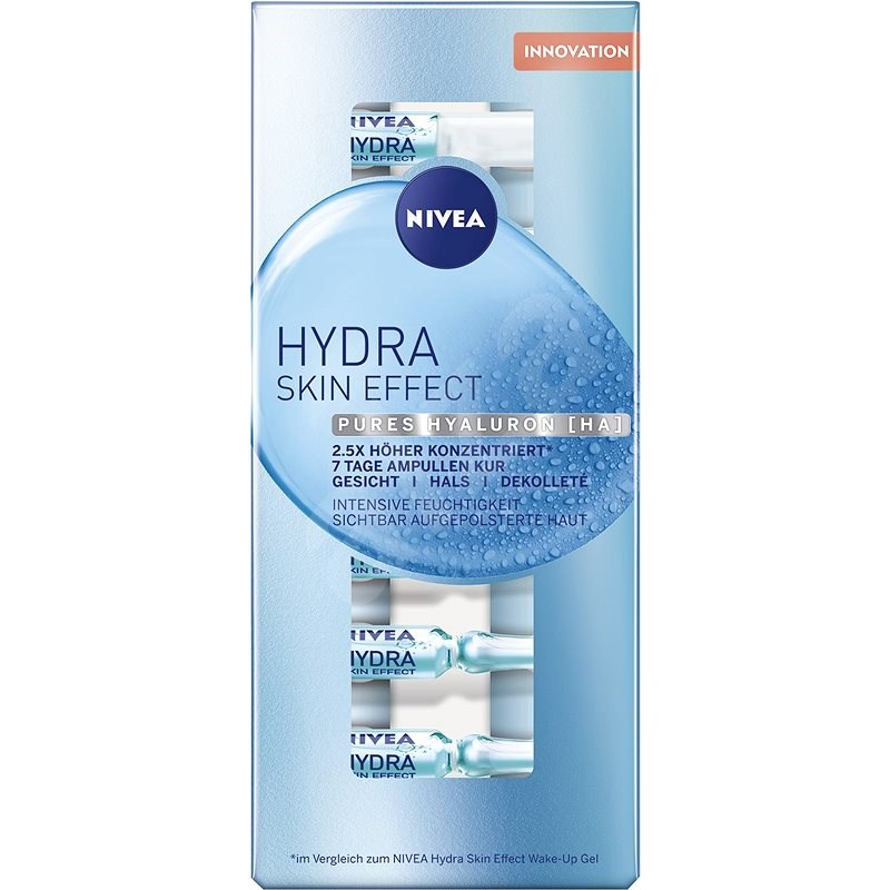 NIVEA Hydra Skin Effect 7 Days Treatment 7× 1 ml - Ampulky