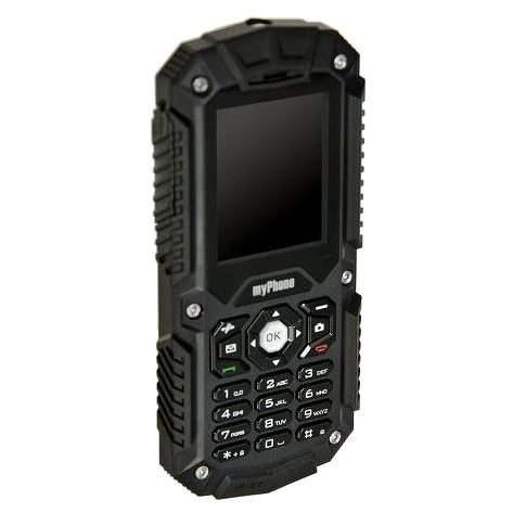 MyPhone Hammer čierny Dual SIM - Mobilný telefón