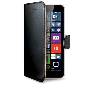 CELLY WALLY478 čierne - Puzdro na mobil