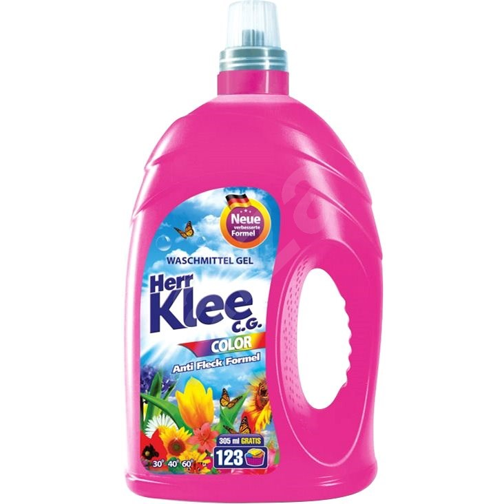 HERR KLEE GEL Color 4,305 l (123 praní) - Prací gél