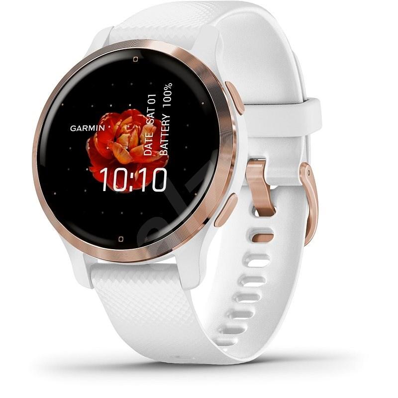 Garmin Venu2S Rose Gold /White Band - Smart hodinky