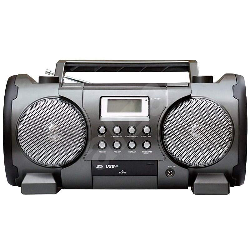 Roadstar CSU 457RC čierny - Rádiomagnetofón