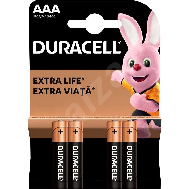Duracell Basic AAA 4 ks - Jednorázová batéria