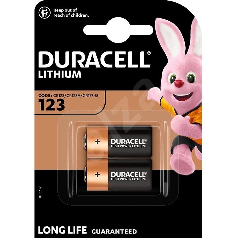 Duracell Ultra CR123A 2 ks - Jednorázová batéria