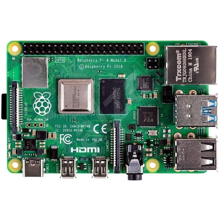 Raspberry Pi 4 Model B - 4 GB RAM - Mini PC