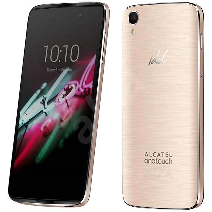 ALCATEL ONETOUCH 6039Y IDOL 3 (4.7) Gold - Mobilní telefon