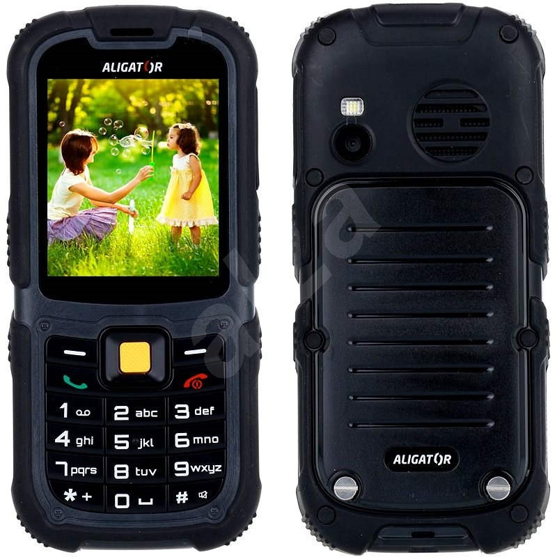 Aligator R11 eXtremo Black Dual SIM - Mobilný telefón