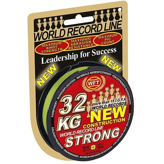 WFT KG Strong Chartreuse 0,08 mm 10 kg 150 m - Šnúra
