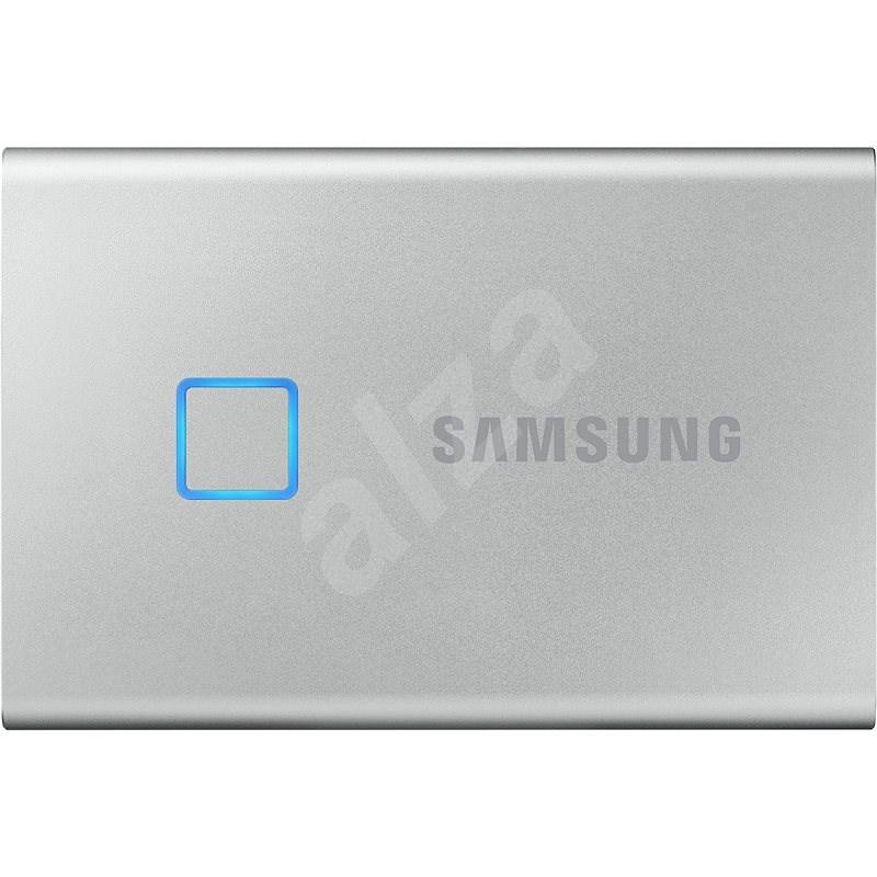 Samsung Portable SSD T7 Touch 1 TB strieborný - Externý disk