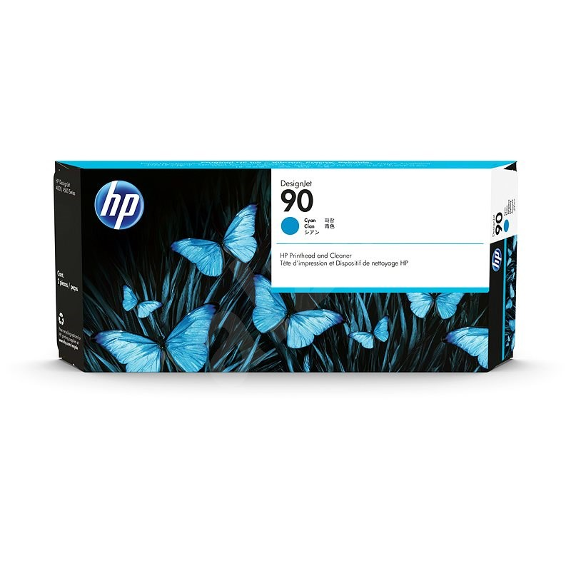 HP C5055A č. 90 azúrová - Cartridge