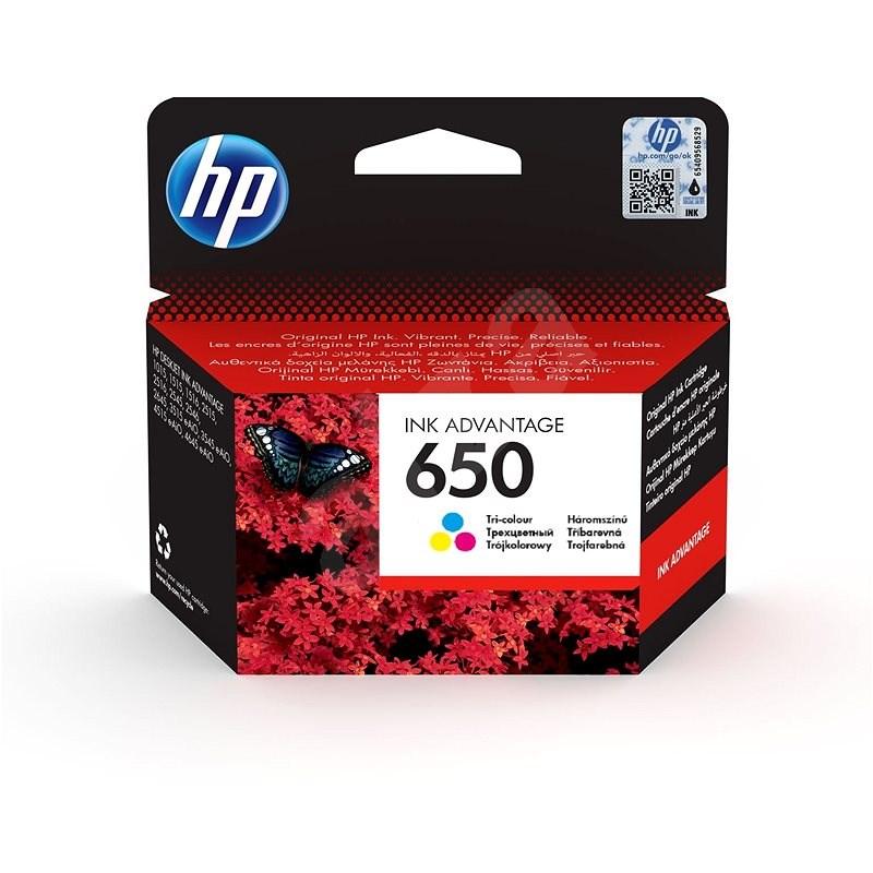 HP CZ102AE č. 650 farebná - Cartridge