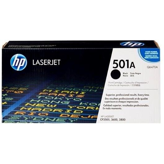 HP Q6470A čierny - Toner