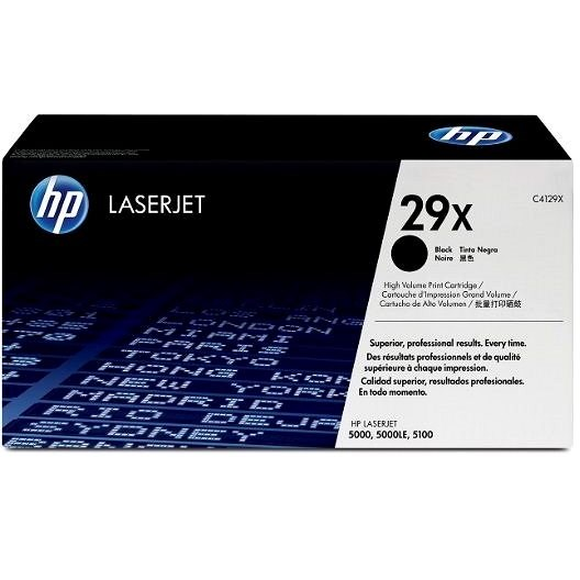 HP C4129X č. 29X čierny - Toner