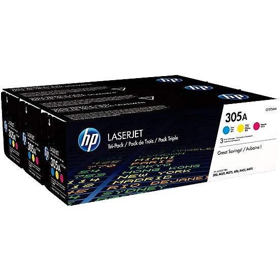 HP CF370AM č. 305A multipack - Toner