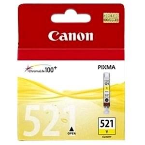 Canon CLI-521Y žltá - Cartridge