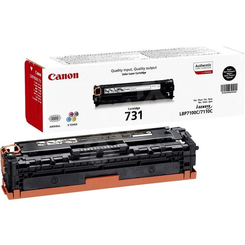Canon CRG-731Bk čierny - Toner