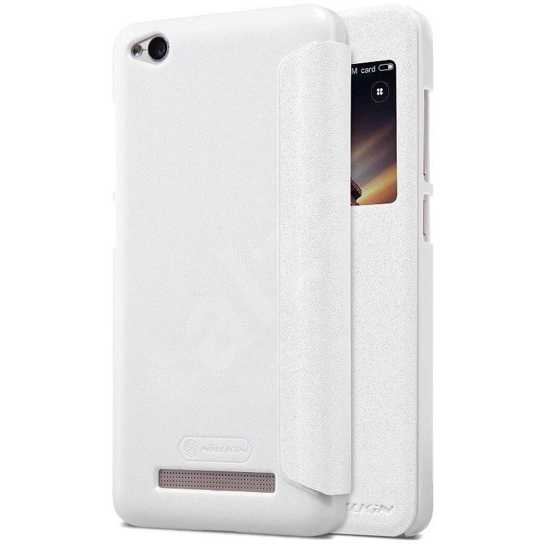 Nillkin Sparkle S-View biela pre Xiaomi Redmi 4A - Puzdro na mobil