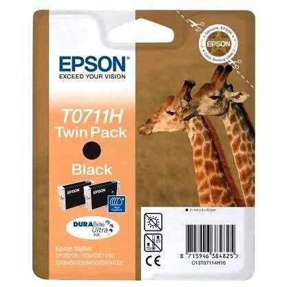 Epson T0711H double pack čierna - Cartridge